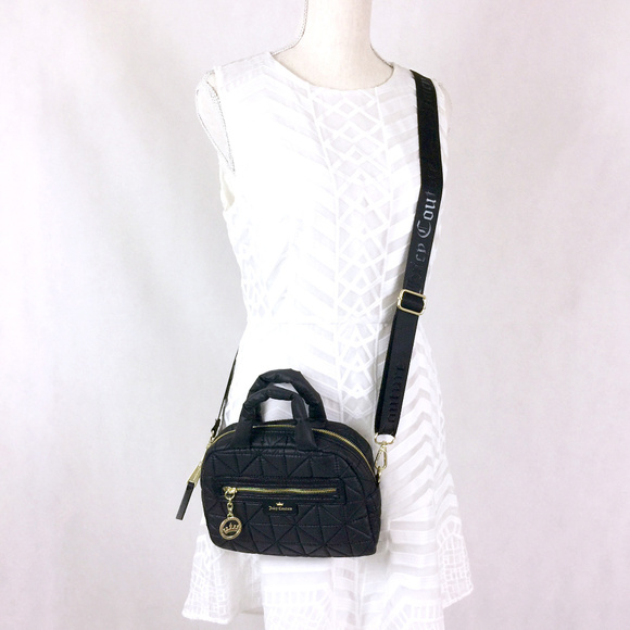 1a61219df1 NWT✨JUICY COUTURE Crown Jewel Quilted Crossbody